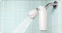 淋浴净水器